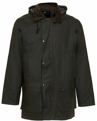 Champion Howick Mens Wax Padded Jacket Brown  - Click to view a larger image