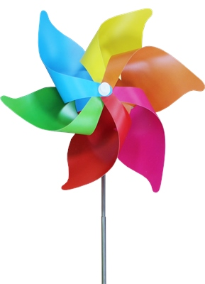 Yello Telescopic Windmill   - Click to view a larger image