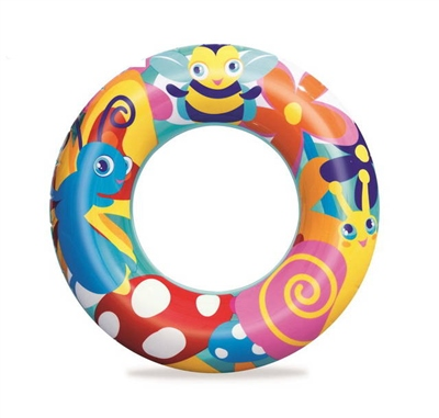 """Bestway 22"""" Designer Swim Ring  - Click to view a larger image"""