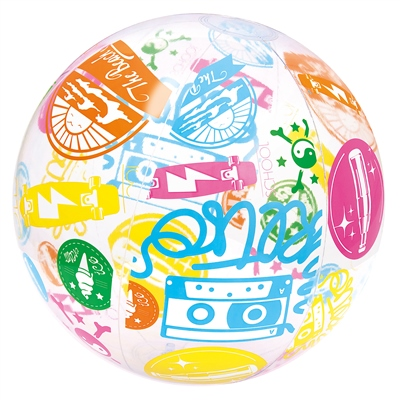 "Bestway Giant 20"" Designer Beach Ball  - Click to view a larger image"
