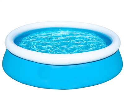 """Wet N Wild 8' X 25"""" Quick Up Pool   - Click to view a larger image"""