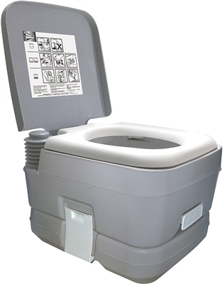 Streetwize 10L Portable Flushing Toilet   - Click to view a larger image