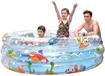 PMS Ocean Fun Jumbo 3 Ring Pool   - Click to view a larger image