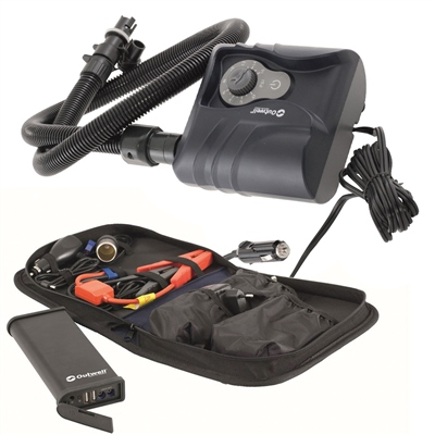 Outwell Electric Tent Pump & 12v Powerbank Bundle Deal  - Click to view a larger image