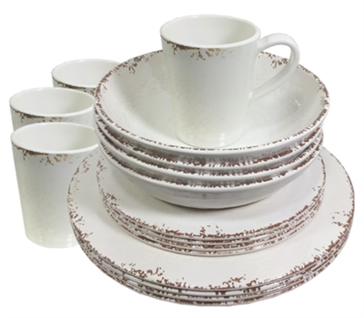 Crusader Crusader Rustic Melamine Set   - Click to view a larger image