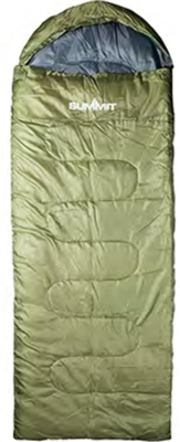Summit Lightweight Envelope Sleeping Bag   - Click to view a larger image