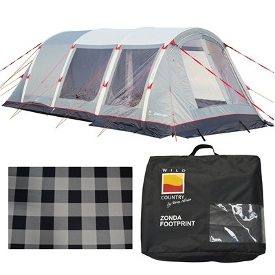 Wild Country by Terra Nova Zonda 4EP Air Tent Package Deal 2021  - Click to view a larger image