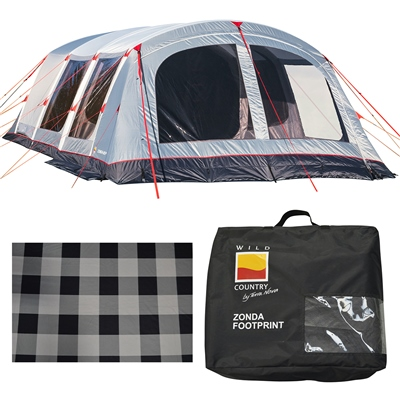 Wild Country by Terra Nova Zonda 6EP Air Tent Package Deal 2021 1