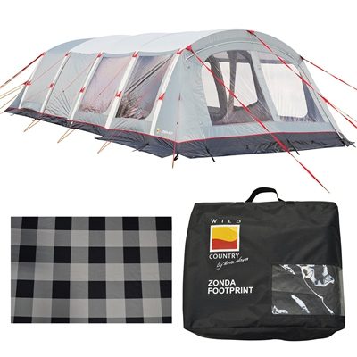Terra Nova Zonda 8EP Air Tent Package Deal 2020  - Click to view a larger image