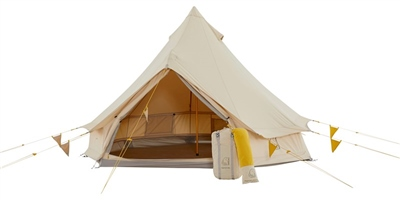 Nordisk Asgard Tech Mini Tent - Mustard  - Click to view a larger image