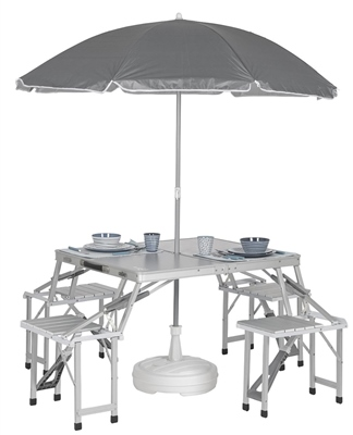 Bo-Camp Foldable Picnic Table   - Click to view a larger image