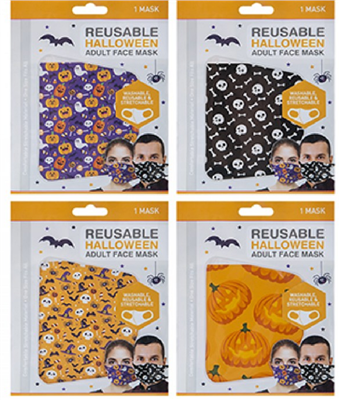 PMS Halloween Reusable Face Mask  - Click to view a larger image