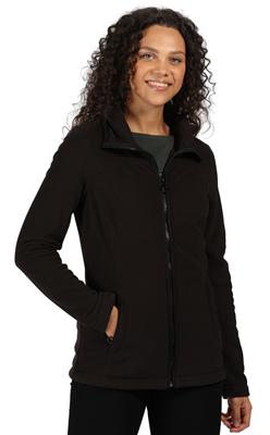 Regatta Fayona Womens Fleece Black/Black  - Click to view a larger image