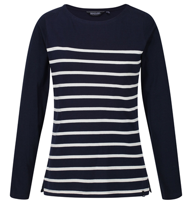 Regatta Ferelith Navy Womens T-shirt  - Click to view a larger image