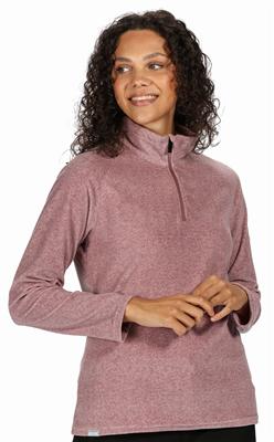 Regatta Pimlo Half Zip Womens Fleece Dusky Heather  - Click to view a larger image
