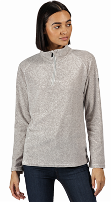 Regatta Pimlo Half Zip Womens Fleece Light Steel  - Click to view a larger image