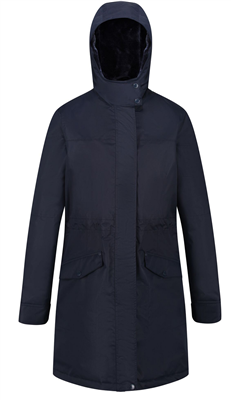 Regatta Women's Rimona Parka Jacket Navy  - Click to view a larger image