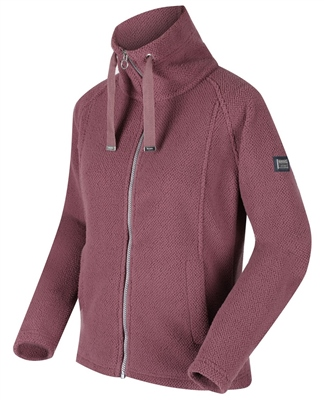 Regatta Zaylee Womens Full Zip Fleece Dusky Heather  - Click to view a larger image