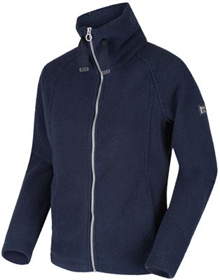 Regatta Zaylee Womens Full Zip Fleece Navy  - Click to view a larger image