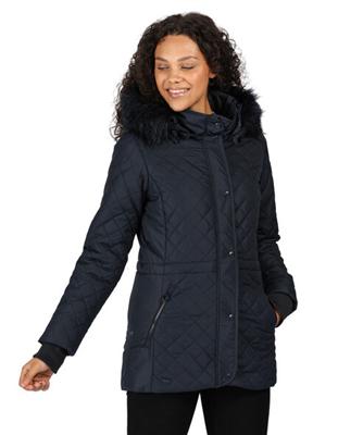 Regatta Zella Womens Navy Jacket  - Click to view a larger image