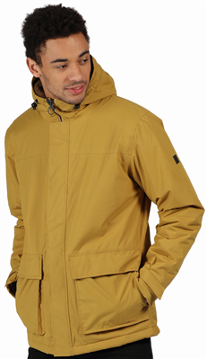 Regatta Mens Sterlings II Waterproof Jacket Bronze Mist  - Click to view a larger image