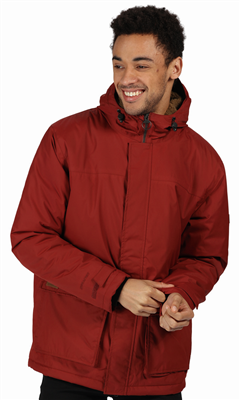 Regatta Mens Sterlings II Waterproof Jacket Spiced Apple  - Click to view a larger image
