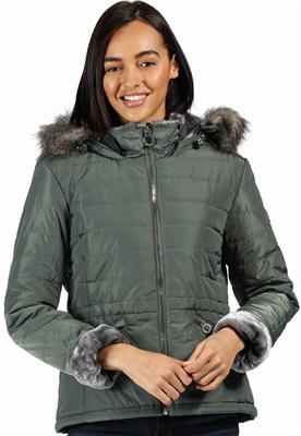 Regatta Westlynn Womens Jacket Balsam Green  - Click to view a larger image
