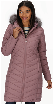 Regatta Fritha Womens Dusky Heather Parka  - Click to view a larger image