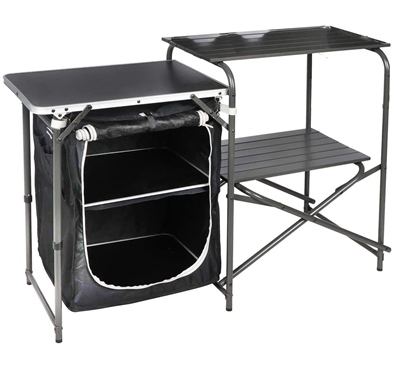 Royal Chef Aluminium Kitchen Stand & Larder  - Click to view a larger image