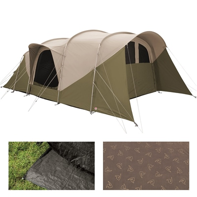 Robens Eagle Rock TC 6+2XP Tent Package Deal 2021  - Click to view a larger image