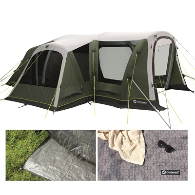 Outwell Oakdale 5PA Air Tent Package Deal 2021  - Click to view a larger image
