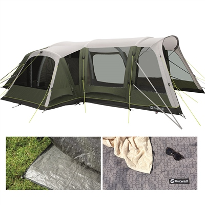 Outwell Pinedale 6PA Air Tent Package Deal 2021 1