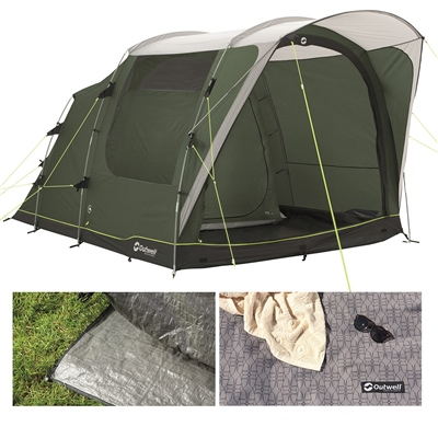 Outwell Oakwood 3 Tent Package Deal 2021 1