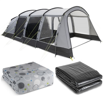 Kampa Hayling 6 Tent Package Deal 2021 1
