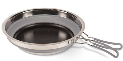 Kampa Collapsible Frying Pan Grey  - Click to view a larger image