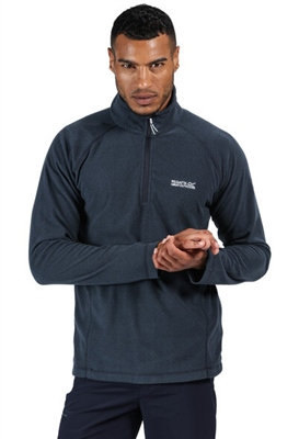 Regatta Montes Mens Half Zip Fleece Dark Denim 2021 1