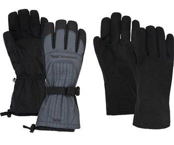 Trespass Ganjo Mens Ski Gloves