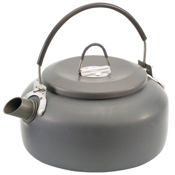 Gelert 0.8L Anodised Aluminium Kettle  - Click to view a larger image