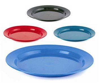 Gelert 24cm Plastic Flat Plate