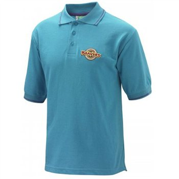 Scout Shops Beaver Tipped Polo Shirt  - Click to view a larger image
