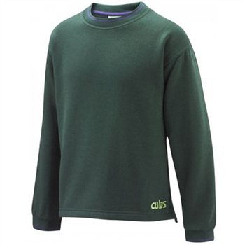 Scout Shops Cub Tipped Sweatshirt  - Click to view a larger image