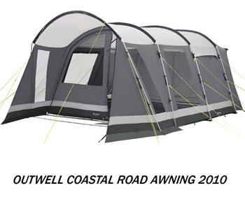 Outwell Coastal Road Motorhome Awning 2010