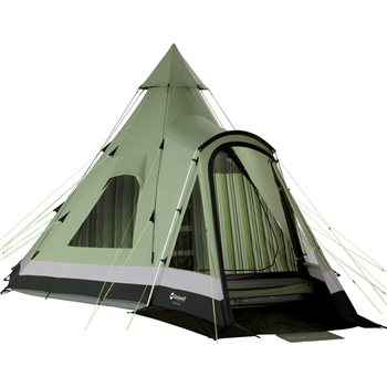 Outwell Indian Lake Tipi Tent 2012 Classic Collection   - Click to view a larger image