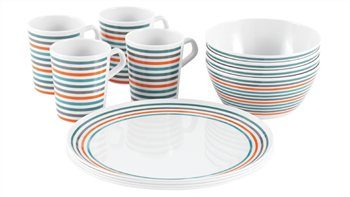 Easy Camp 2 & 4 Person Melamine Picnic Set   - Click to view a larger image