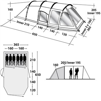 Outwell Nevada XL Tent Spares - Click to view a larger image  sc 1 st  C&ing World : outwell nevada xl tent - memphite.com
