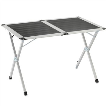 Gelert Aluminium 4 Person Double Roll Up Table