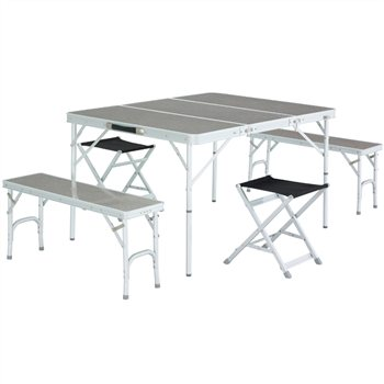 Easy Camp Dijon Picnic Table & Chair Set | CampingWorld.co.uk