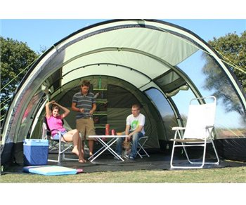 K&a Carbis 5 Tunnel Tent 2012 - Click to view a larger image & Kampa Carbis 5 Tunnel Tent 2012 | CampingWorld.co.uk