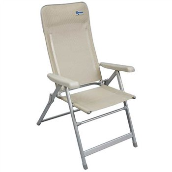 51892d5bbc8 Kampa Luxury High Back Reclining Chair - Click to view a larger image