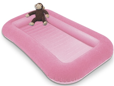Kampa Airlock Junior Airbed Pink  - Click to view a larger image